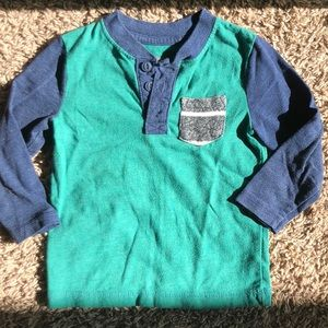 Toddler Boys Longsleeve Pocket Tee 18mo